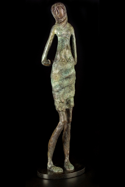 Willow (edition 1 sold), 22 x 7 x 3, bronze